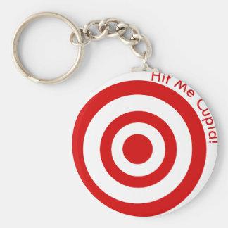 Hit me cupid keychain