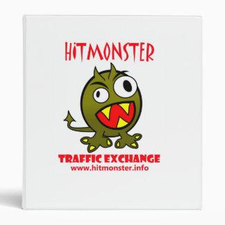 Hit Monster Logo Binder