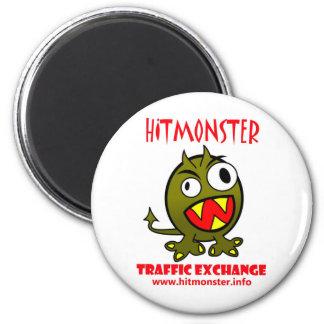 Hit Monster Logo Magnet