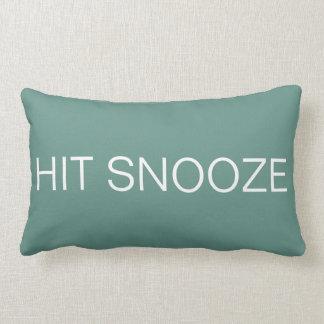 Hit Snooze - Beryl Green Lumbar Pillow