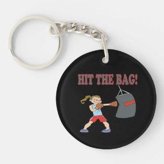 Hit The Bag Keychain