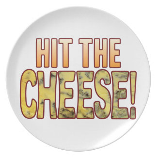Hit The Blue Cheese Dinner Plate