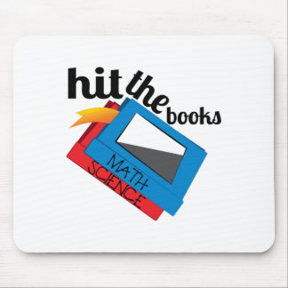 Hit The Books Mouse Pad