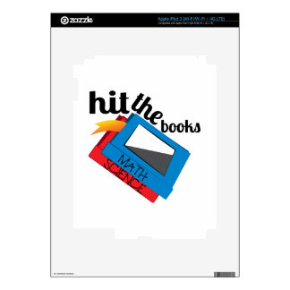 Hit The Books Skins For iPad 3
