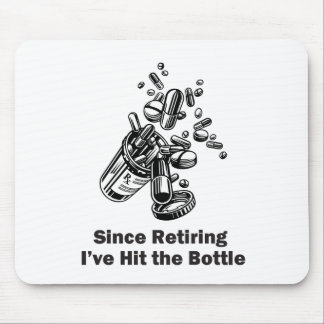 Hit the Bottle Mouse Pad