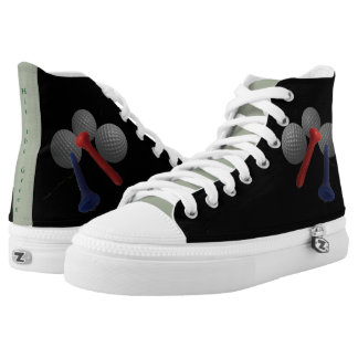 Hit the Green High-Top Sneakers