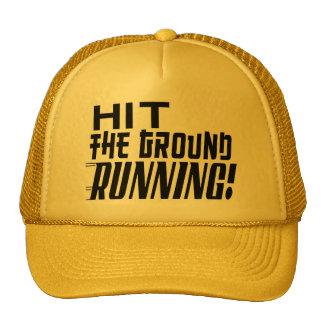 Hit the Ground RUNNING! Trucker Hat
