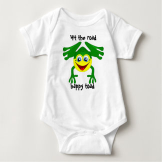 """""""Hit the road, happy toad"""" Child's T Shirt"""