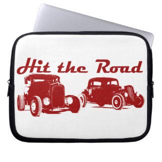 Hit the Road - Hot Rods original design bordeaux Computer Sleeve