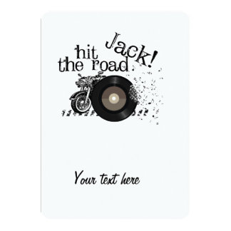 Hit the road Jack Card
