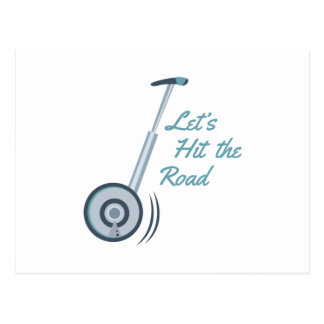 Hit The Road Postcard