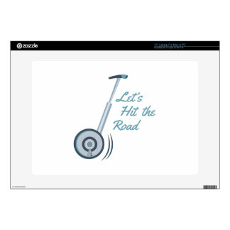 Hit The Road Decal For Laptop