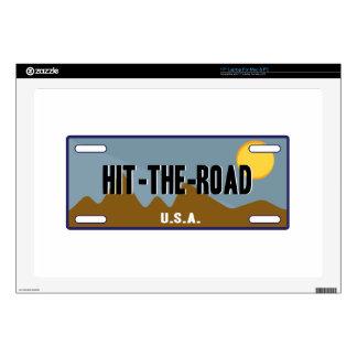 Hit The Road Laptop Skins