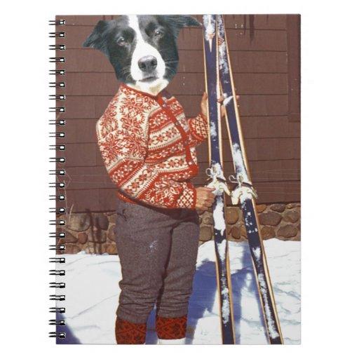 Hit The Slopes Spiral Notebooks