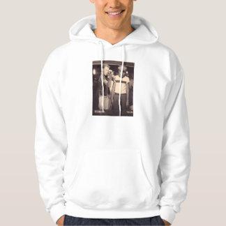 hit the target and win a kewpie doll hooded sweatshirt