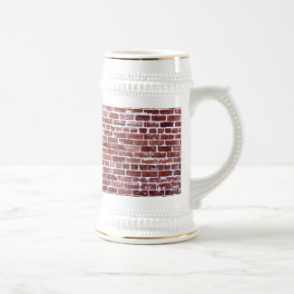 hit the wall beer stein