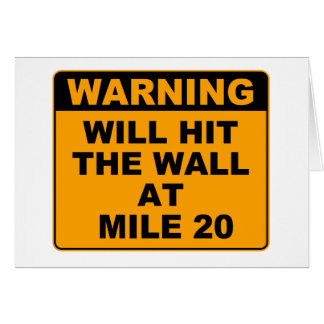 Hit the Wall Card
