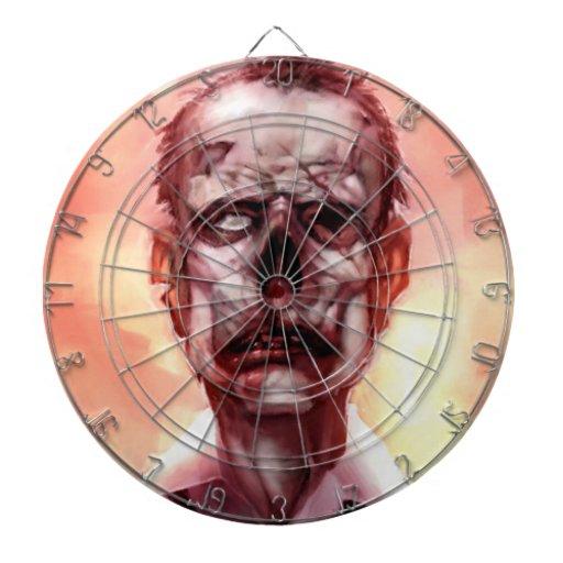 hit the zombie dartboard