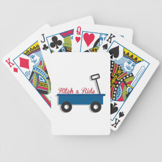 Hitch a Ride Bicycle Playing Cards