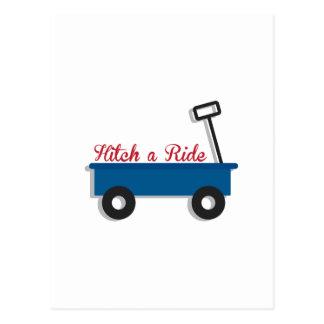 Hitch a Ride Postcard