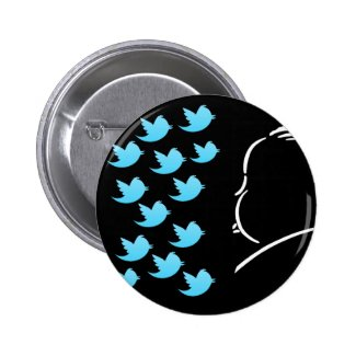 Hitch and Tweets 2 Inch Round Button