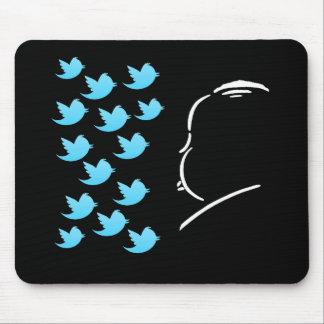 Hitch and Tweets Alfombrillas De Ratones