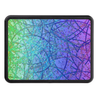 Hitch Cover Grunge Art Abstract
