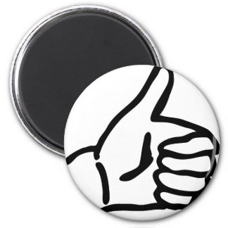 hitch-hike icon magnet