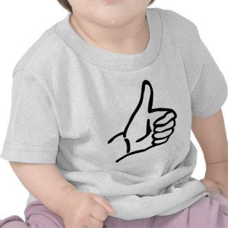 hitch-hike icon tshirt