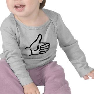 hitch-hike icon t shirts