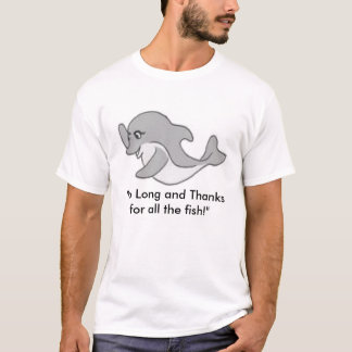 Hitch Hikers Guide-Dolphin Tee