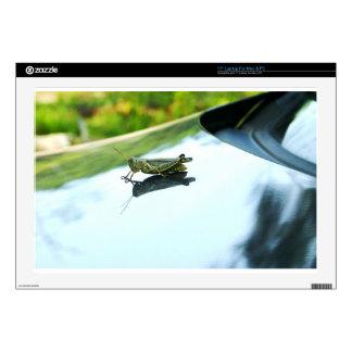 "hitch hiking grasshopper 17"" laptop skin"