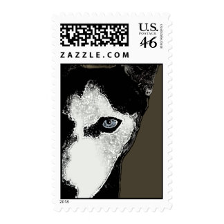 Hitch the Husky Postage
