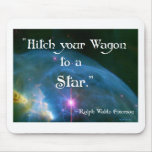 Hitch Your Wagon Mouse Mat