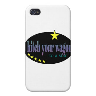 Hitch your Wagon to a Star iPhone 4 Cover