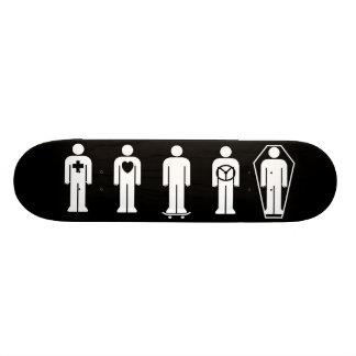 Hitchcock Live, Love, Skate, Ride, Die Skateboard