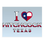 Hitchcock, Tejas Postales
