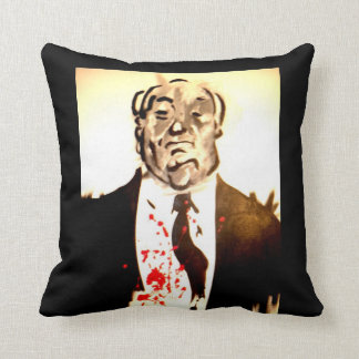 Hitchcock throw pillow
