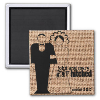 Hitched Magnet Favors