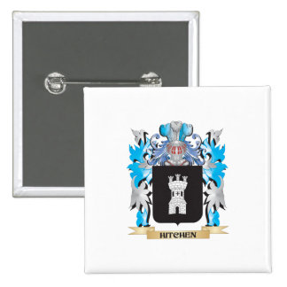Hitchen Coat of Arms - Family Crest Button