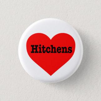 """HITCHENS HEART"" PINBACK BUTTON"