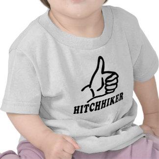 hitchhiker icon shirt