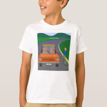 Hitchhiking Danger T Shirt