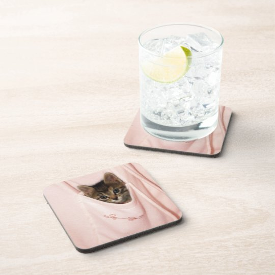 Hitchhiking Drink Coaster