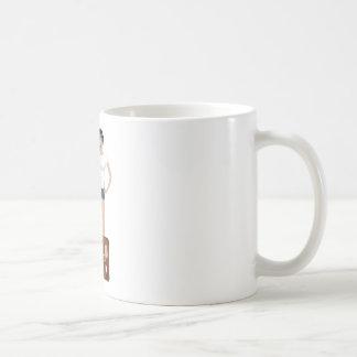 Hitchhiking Girl Coffee Mug