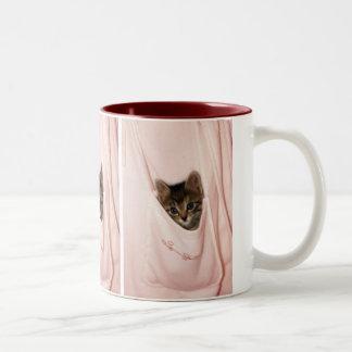 Hitchhiking Two-Tone Coffee Mug