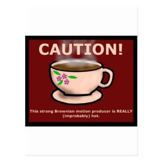 Hitchiker's Guide Hot Tea Postcard