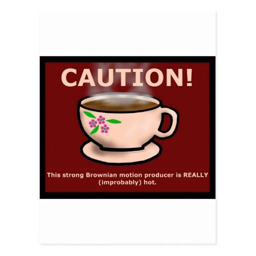 Hitchiker's Guide Hot Tea Postcards