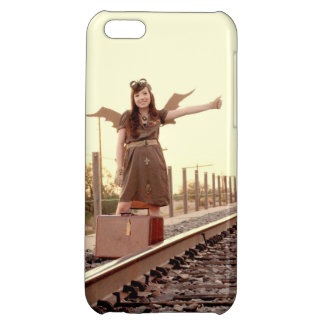 Hitchin' an Airship iPhone 5C Covers