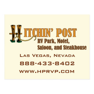 Hitchin' Post RV Park Las Vegas Postcard